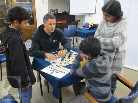 NZ Chess Academy In-Tournament Coaching